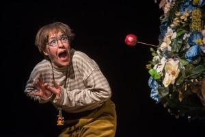 """02.03.2016 Göttingen: Fotoprobe """"Weil sie nicht gestorben sind"""" am Deutschen Theater Göttingen / Regie: Brit Bartkowiak / DT / Foto: Thomas Müller / freier Fotograf"""